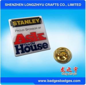 Bulk Lapel Pin Printing Logo pictures & photos