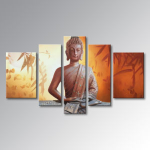 Hand Painted Buddha Oil Painting on Canvas Abstract Wall Art Decor Artwork pictures & photos