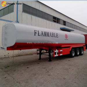 Factory Sale 42000 Liters Diesel Oil Fuel Tanker Tank Trailer pictures & photos