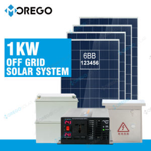 Morego off Grid 1kw Solar Power System Generator pictures & photos