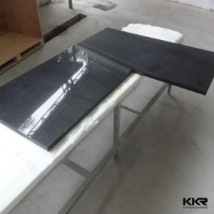 Customized Prefab Solid Surface Bathroom Vanity pictures & photos