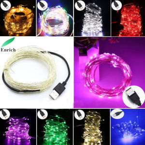 Christmas Decoration Copper String Light 2017 Hot Selling with Different Colors pictures & photos
