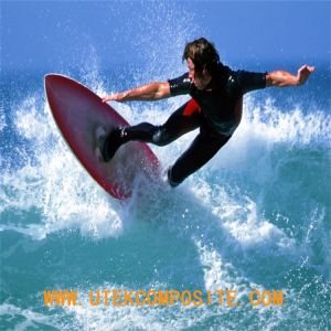 Plain 210GSM Fiberglass Cloth Fiberglass for Surfboard pictures & photos