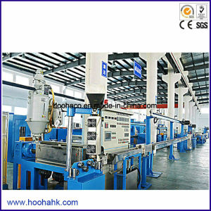 PLC Control Power Wire Cable Extrusion Machine pictures & photos