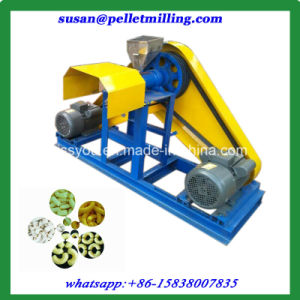 Rice Corn Flour Powder Puffed Snack Food Extruder Machine pictures & photos