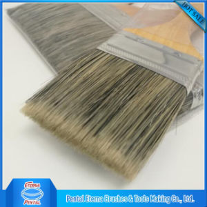 Professional Natural Bristle Paint Brush pictures & photos