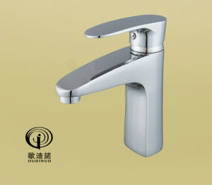 Single Handle Kitchen Faucet with Chrome Plated 70029 pictures & photos