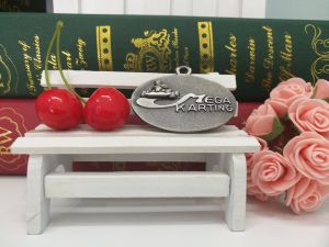 Custom Engrave Bronze Sport Karting Medal pictures & photos