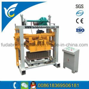 Qt40-2 Small Manual Cement Block Machine Vibrator Brick Making Machine pictures & photos