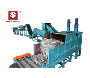 Recycling Waste Plastic PE PP Film Hard Bottles Washing Line Waste Plastic Recycling Machine pictures & photos