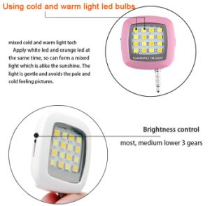 Selfie Flash Light for Moble Phone Camera Flash Light (OM-RK05) pictures & photos