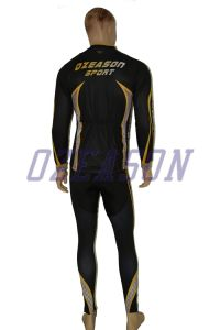 Customized Bulk Cheap Breathable Printed Men Long Sleeve Cycling Shirts pictures & photos