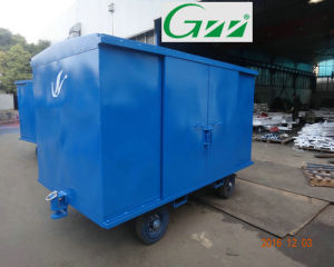 Aviation Baggage Cart Enclosed Airport Trolley pictures & photos