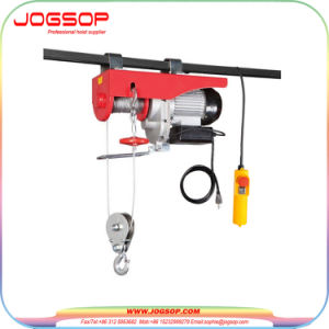 220V PA300 Wire Rope Sling Price Mini Electric Hoist 150kg pictures & photos