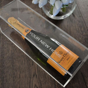 Factory Supply Custom Acrylic Wine Box Display Box for Promotion pictures & photos