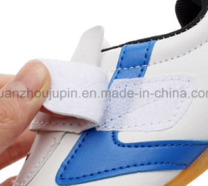 OEM Sport Durable Breathe PU Velcro Taekwondo Shoes pictures & photos