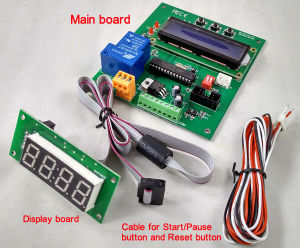Coin Acceptor Operated Timer Control Board (WF-501LCD) pictures & photos