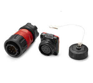 IP67 Power Electrical Male and Female Waterproof Connector Plug pictures & photos