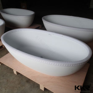 Modern Bathroom Furniture Stone Bathtub for Sale pictures & photos