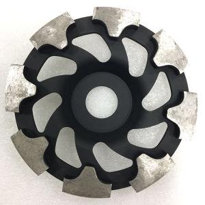 130mm Diamond T Segment Grinding Cup Wheels for Concrete Floor pictures & photos