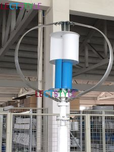 Low Noise 12V24VDC 200W Vertical Axis Wind Turbine pictures & photos