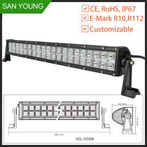 20 Inch 120W LED Light Bar for Trucks Automobile 4X4 Working pictures & photos