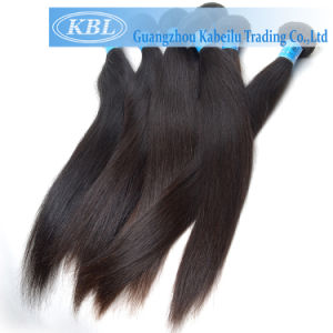 5A Unprocessed Brazilian Hair Mink Yaki Hair Synthetic 3 Bundles pictures & photos