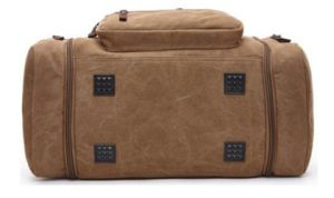 Canvas Travel Tote Luggage Weekend Duffel Travel Bag Sh-16050533 pictures & photos