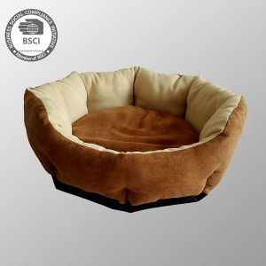 Pet Bed Suede Fabric Pet Products Luxury Dog Sofa Beds pictures & photos