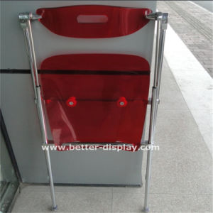 Custom Lucite Transparent Acrylic Folding Chair pictures & photos