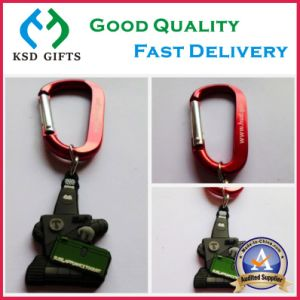 Printed Logo on Backside Custom Cheap Promotion Key Holders pictures & photos