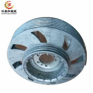 Aluminum Pulley Sand Casting Pulley with Dynamic Balance pictures & photos