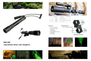 New Long Distance 30mw Green Laser Designator / Sight (ES-G25-L) pictures & photos