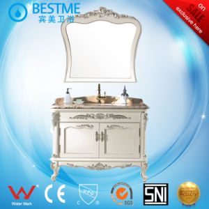 Wholesale Classical Simple Style Solid Wood Bathroom Vanity by-F8019 pictures & photos