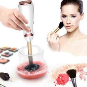 Electric Makeup Brush Cleansing and Dryer Facial Cleansing Brush pictures & photos