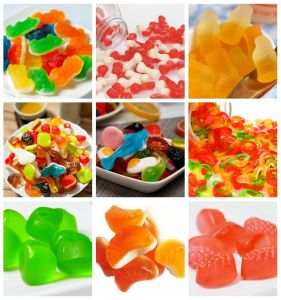 150-600kg/Hr Gummy Bear Manufacturing Machine pictures & photos