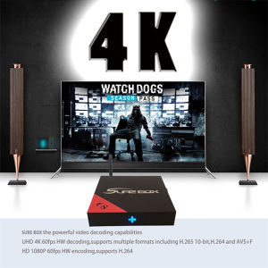 Hot Sale 4K*2K Amlogic S905 2+16GB Android TV Box pictures & photos