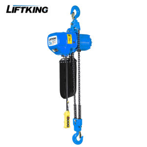 3ton Overhead Crane Electric Lifting Chain Hoist with Forged Hook Assembly pictures & photos