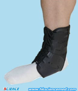 Ankle Brace Whit Straps pictures & photos
