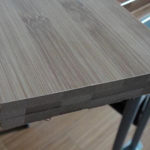 Carbonized Horizontal Solid Bamboo Flooring UV Lacquer Smooth pictures & photos