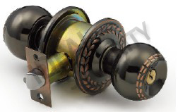 Cylindrical Tubular Competitive Price Knob Door Lock (WS5874AC-ET) pictures & photos