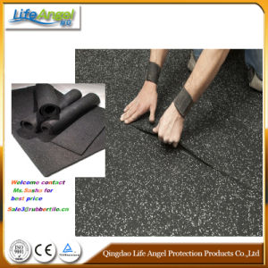 3-12mm Thick Beautiful Rubber Flooring for Gym, Sports, Indoor pictures & photos