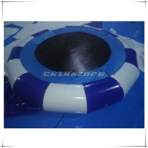 Fantastic Design Color Mixed Inflatable Trampoline Water Jumper