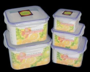 Microwave Storage Container 5PCS Set pictures & photos