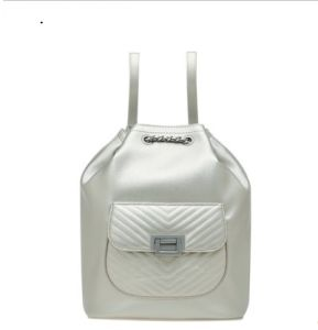 New Fashion Diamond Pattern Shoulder Backpack Bucket Bag for Women pictures & photos