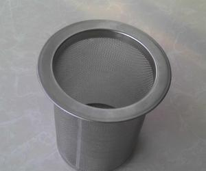 Stainless Steel Woven Wire Mesh Tea Coffee Wine Filter Basket pictures & photos