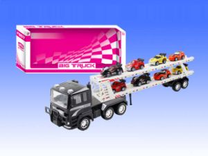 Christmas Big Friction Children Vehicle Toy Truck with 8 Small Cars for Boys (10206796) pictures & photos