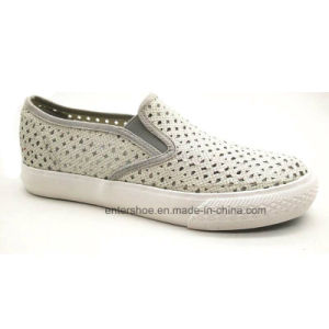 Vulcanized Slip on Women Shoes with Hollow (ET-YH160108W) pictures & photos