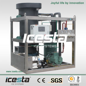 Icesta Compact Tube Ice Machine 1T-10T Daily pictures & photos
