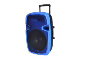 15 Inch Trolley Speaker with USD SD Mic F23 pictures & photos
